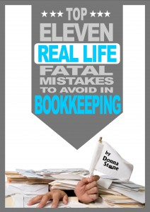 11 REAL Fatal Mistakes made in Bookkeeping Cover