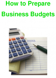 How to Prepare Business Budgets