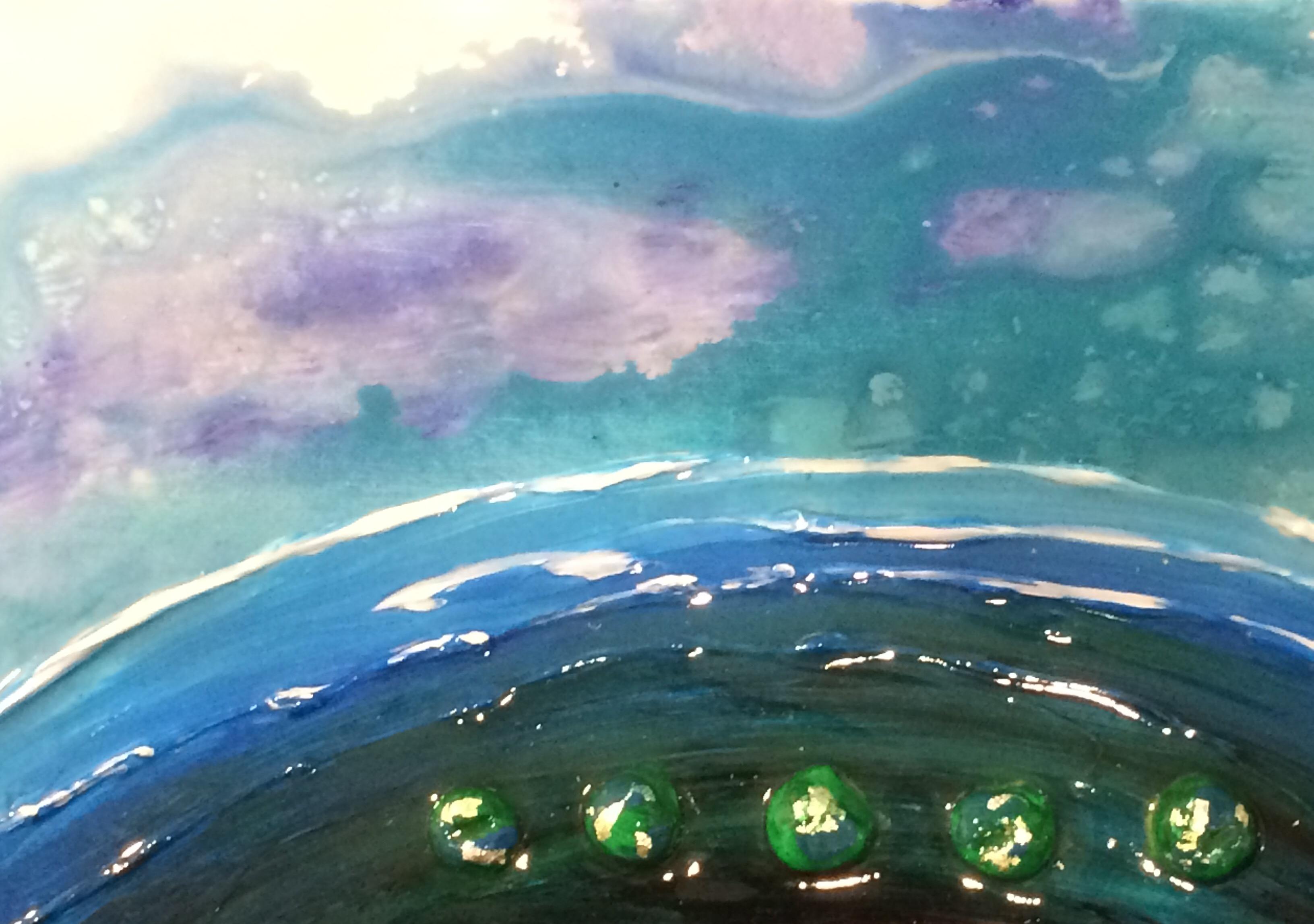 Visual Arts Ocean Pebbles Donna Stone
