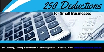 250 Deductions for small businesses
