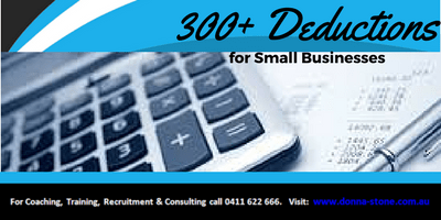 300+ Tax Deductions for Small Business