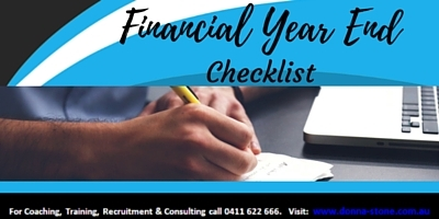 Financial Year End Checklist