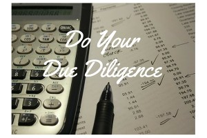 Donna Stone Business Coaching Do your due diligence