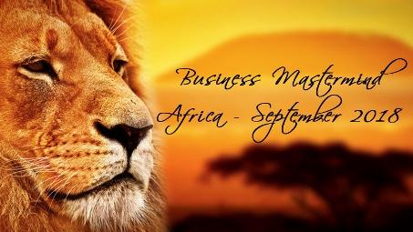 Africa 2018 Mastermind Banner