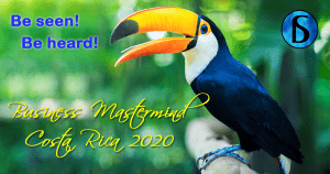 Costa Rica Mastermind Workshop Banner 2020