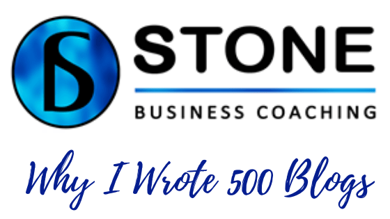 Why I Wrote 500 Blogs