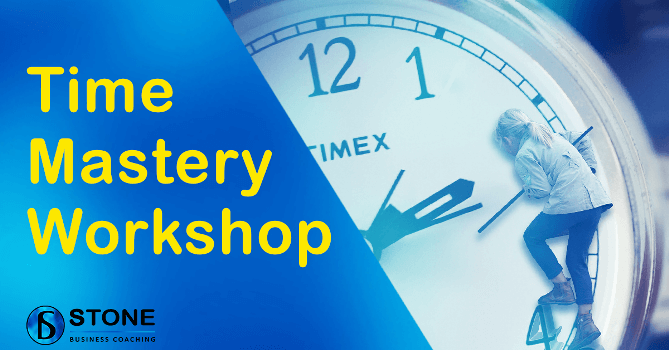 Time Mastery Workshop Banner