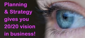 Business Planning Strategy 2020 Vision